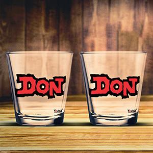 Don Shot Glasses Set of 2 - Shot Glass
