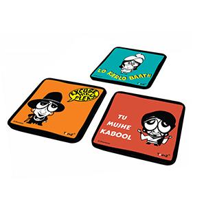 Set of 3 - Coasters