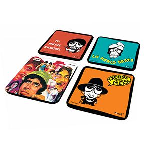 AB Combo 2 - Set of 4 - Coasters
