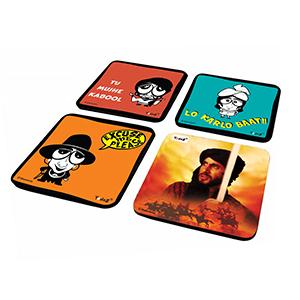 AB Combo 3 - Set of 4 - Coasters