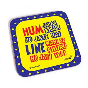 Hum Jahan Khade Ho Jate Hain - Coasters
