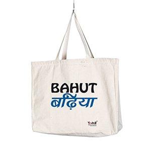 Bahut Badiya - Tote Bags