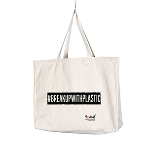 #Breakup With Plastic - Tote Bags