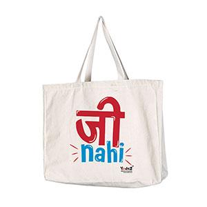 Jee Nahi - Tote Bags