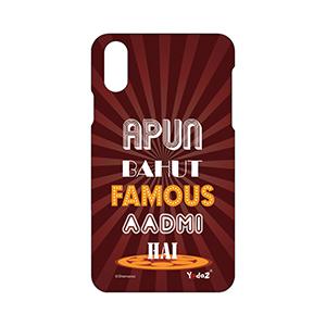 IPHONE X Apun Bahut Famous Aadmi - Apple