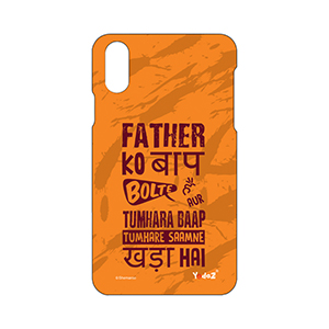 IPHONE X Father Ko Baap Bolte Hai - Apple