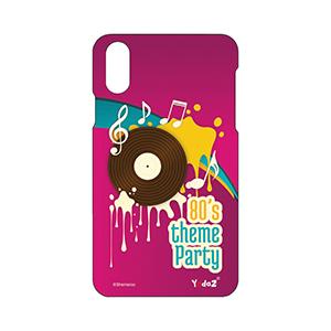 IPHONE X Eighties Theme Party - Apple