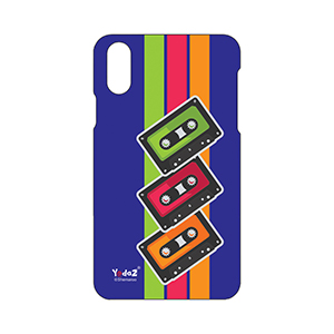 IPHONE X Colorful Cassettes - Apple