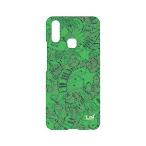 Vivo V9 Green Music Abstract - Vivo