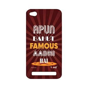 Redmi 5A Apun Bahut Famous Aadmi - Redmi