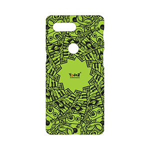 One Plus 5T Green Musical Notes - One Plus