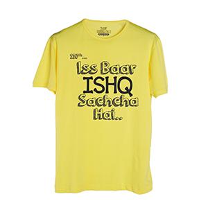 Iss Baar Ishq Sachcha Hai - Men's Trendy T-Shirts