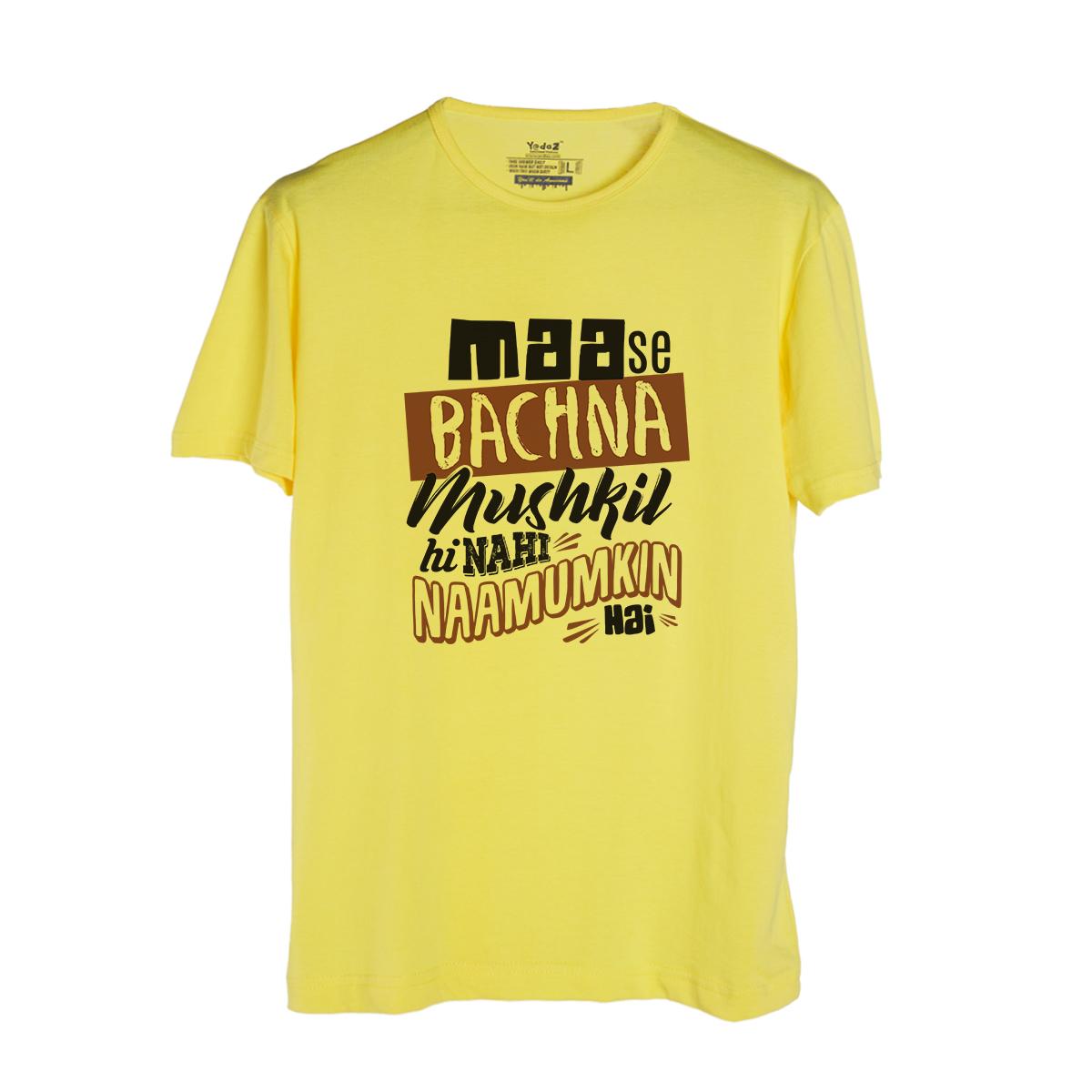 Maa Se Bachna - Men's Trendy T-Shirts