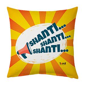 Shanti Shanti 16x16 Cushion Cover - Trendy Cushion Covers