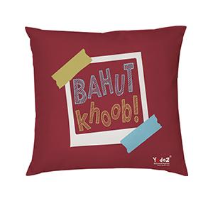 Bahut Khoob 16x16 Cushion Cover - Trendy Cushion Covers
