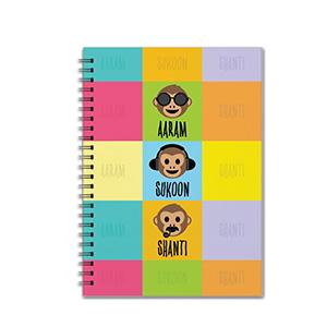 Aaram Sukoon Shanti - Notebooks