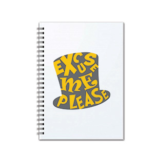 Excuse Me Please - Notebooks