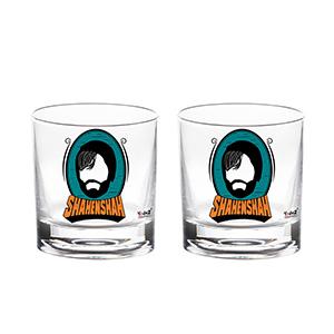 Shahenshah Title Whisky Glass - Set of 2 - Whisky Glasses