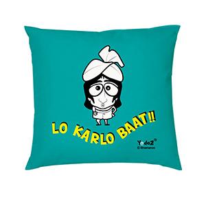 Lo Karlo Baat 16x16 - Trendy Cushions