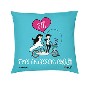 Dil Toh Bachcha Hai Ji 16x16 - Trendy Cushions