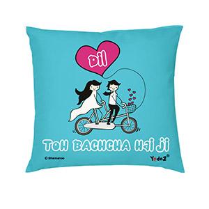 Dil Toh Bachcha Hai Ji 12x12 - Trendy Cushions