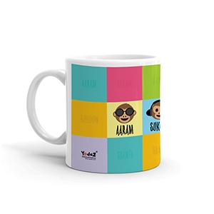 Aaram Sukoon Shanti - Coffee Mugs