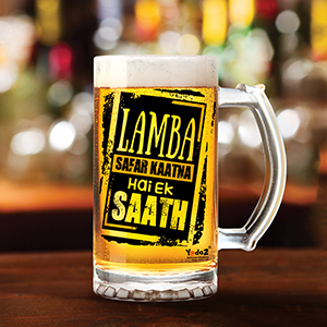 Lamba Safar - Beer Mugs