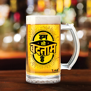 Hum toh Badnaam Hai - Beer Mugs