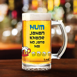 Party Shuru Ho Jati Hai - Beer Mugs
