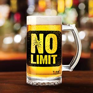 No Limit - Beer Mugs