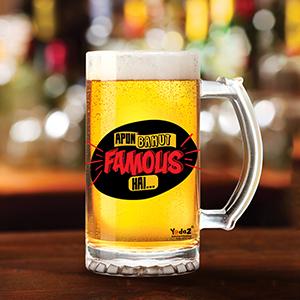 Apun Bahut Famous Hai - Beer Mugs