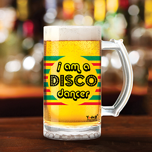 I Am A Disco Dancer - Beer Mugs