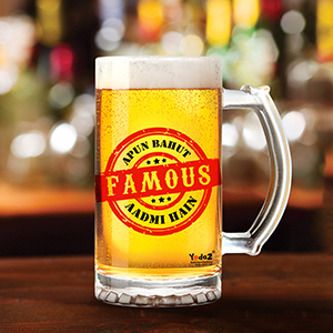 Apun Bahut Famous Aadmi Hai - Beer Mugs