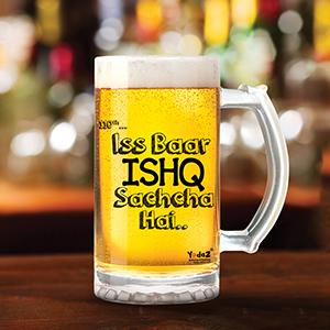 Ishq Sachcha Hai - Beer Mugs